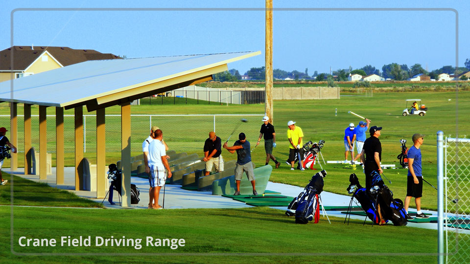 crane field driving range