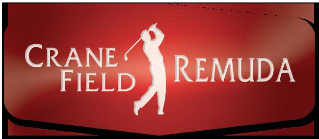 red logo crane field remuda logo