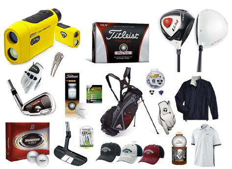 Golf gear special orders